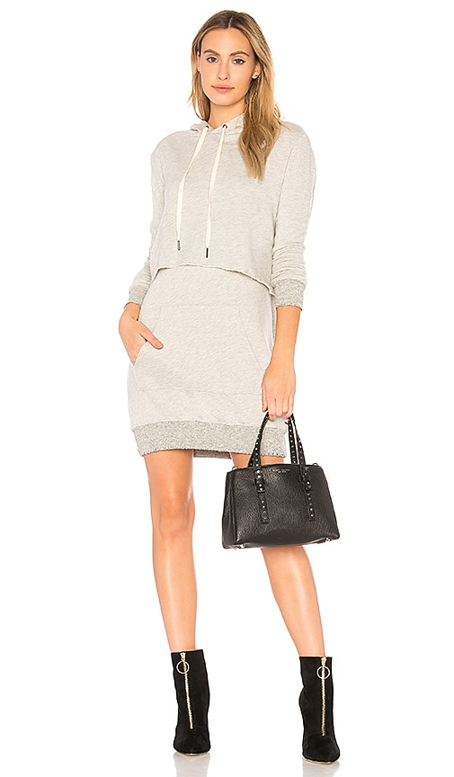 n:PHILANTHROPY Sammy Mini Dress in Light Gray