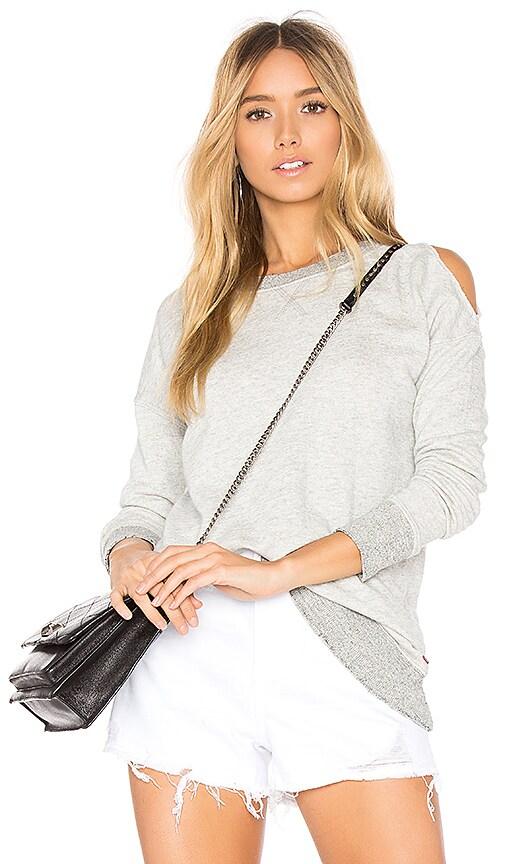 n:PHILANTHROPY Oyster Sweatshirt in Light Gray