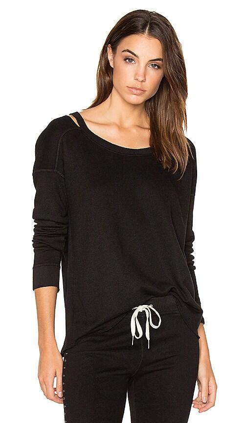 n:PHILANTHROPY Petra Zip Sweatshirt in Black