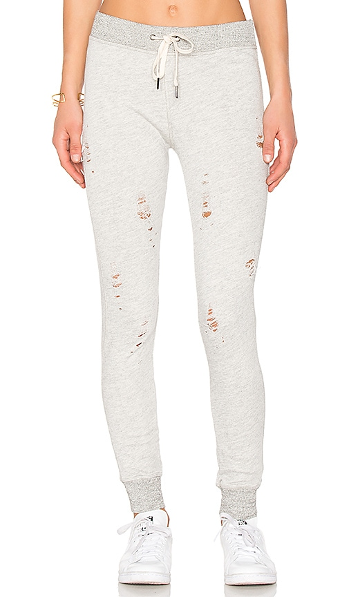 n:PHILANTHROPY Nikki Distressed Sweatpants in Gray