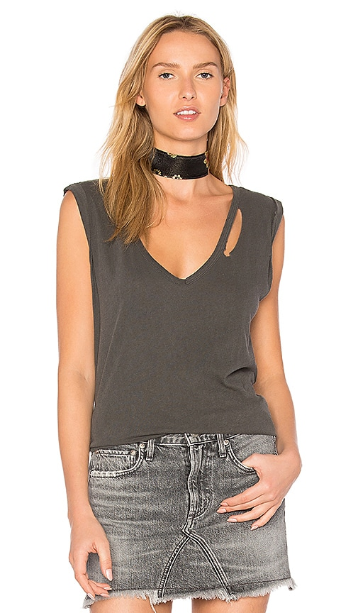 n:PHILANTHROPY Francis Muscle Tank in Gray