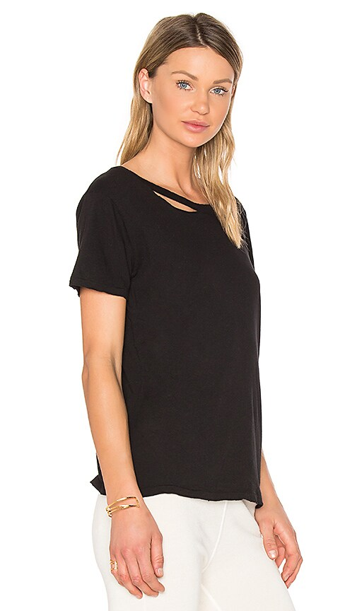 n:PHILANTHROPY Harlow Distressed Tee in Black
