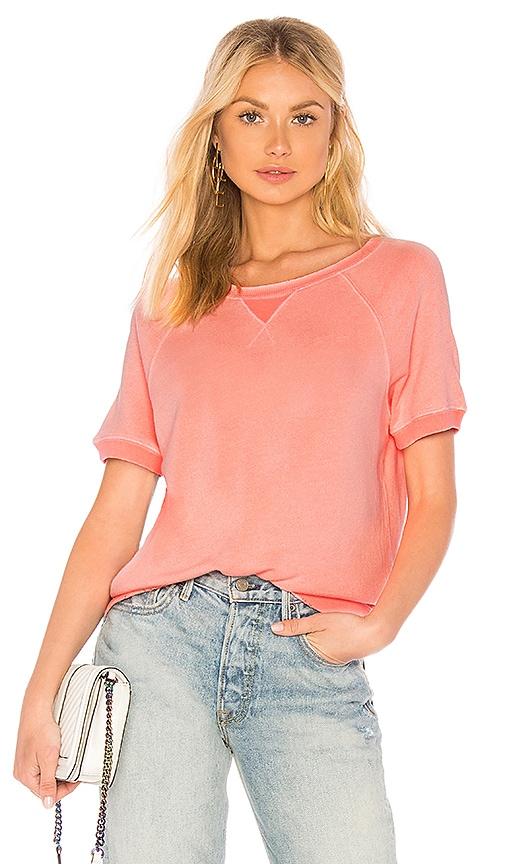 n:PHILANTHROPY Ace Short Sleeve Sweatshirt in Pink