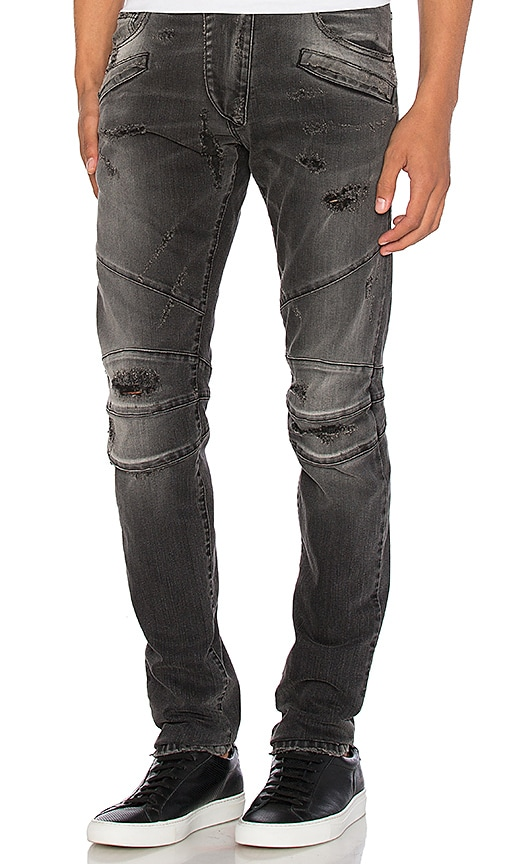 Pierre Balmain Jeans in Black Denim