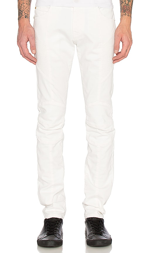 Pierre Balmain Jeans in Off White