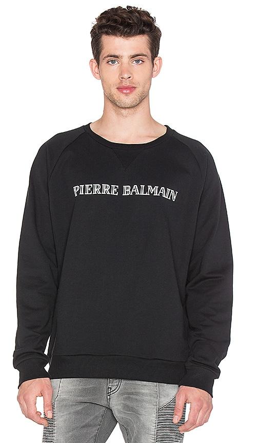 a28f9d115d8 Pierre Balmain Sweatshirt in Black | REVOLVE