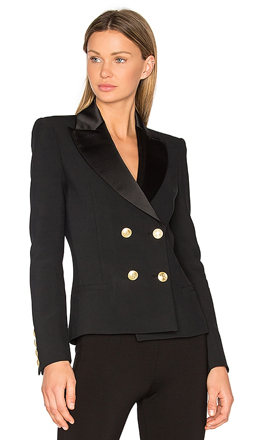 cde281e7 Pierre Balmain Classic Blazer in Black. Previous Slide. Next Slide. Close  Modal. Classic Blazer