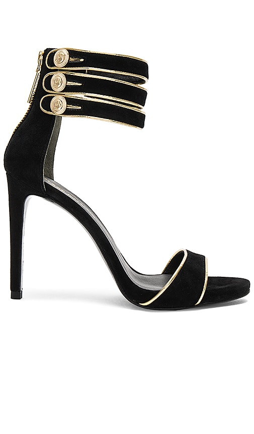 Pierre Balmain Strappy Heel in Black