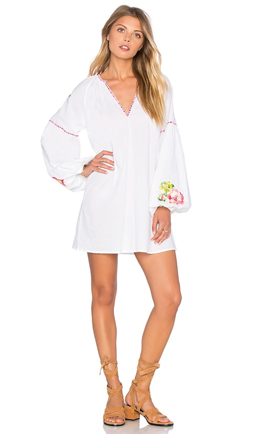 PILYQ Liv Tunic Cover Up in White