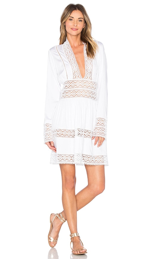 PILYQ Harmony Lace Dress in White