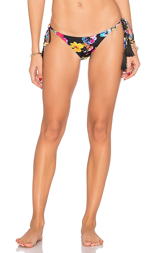 PILYQ Teeny Bikini Bottom in Black