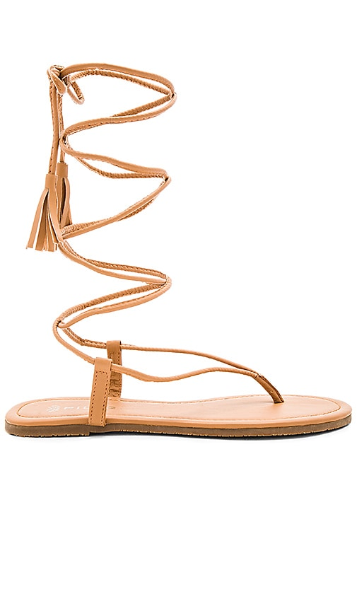 PILYQ Gladiator Sandal in Tan