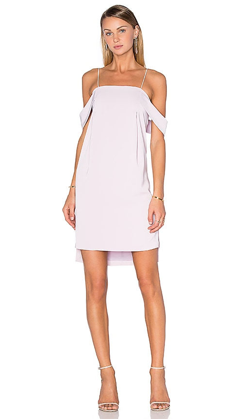 Pink Stitch Mirella Dress in Mauve
