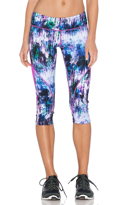 Pink Lotus Sparkle Performance Pant in Crystal Cave