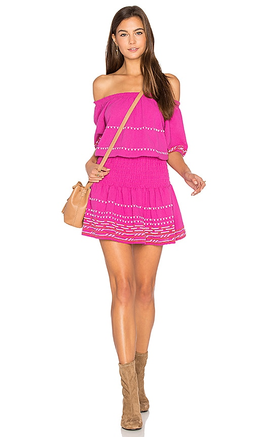 PIPER Butuan Off the Shoulder Dress in Pink