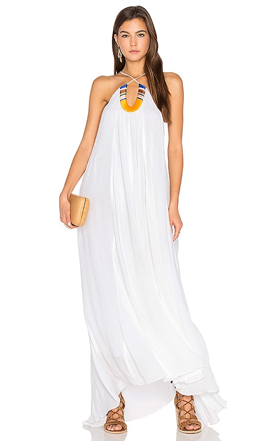 PIPER Saltillo Maxi Dress in White
