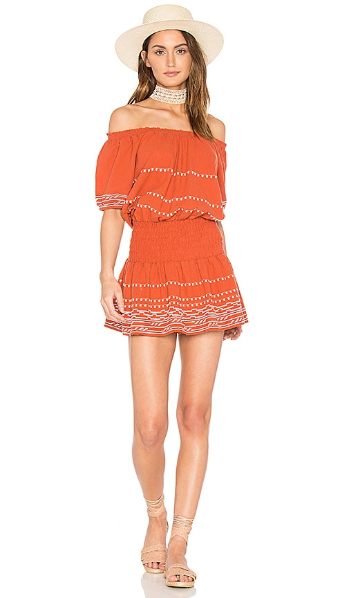 PIPER Butan Dress in Burnt Orange