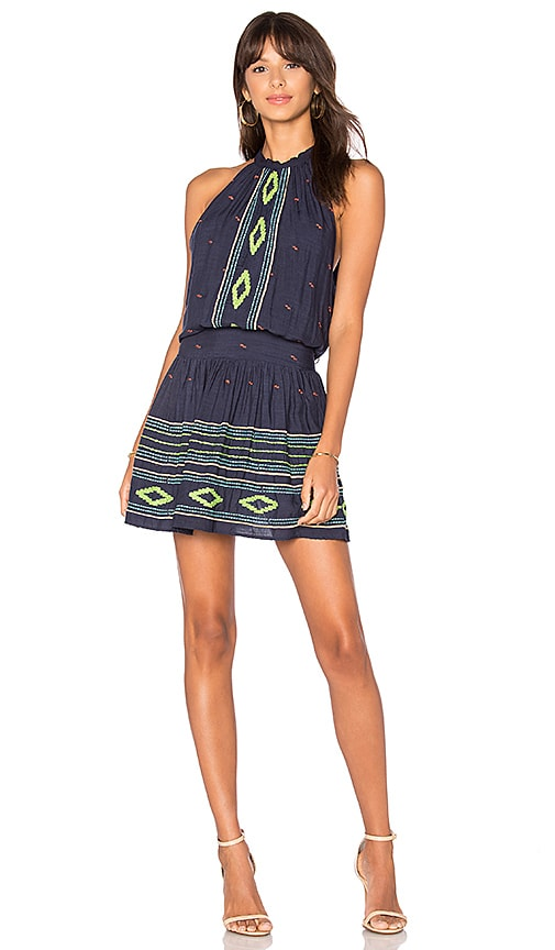 PIPER Pixies Halter Dress in Navy
