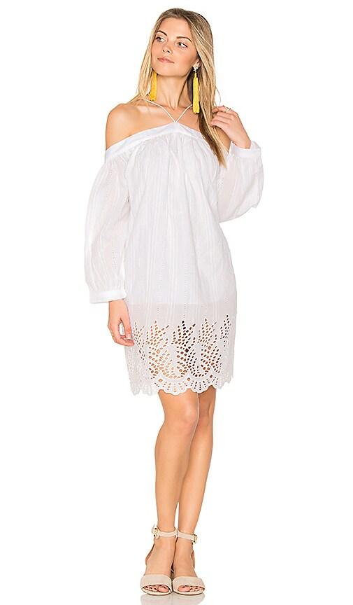 PIPER Pearl Dress in White