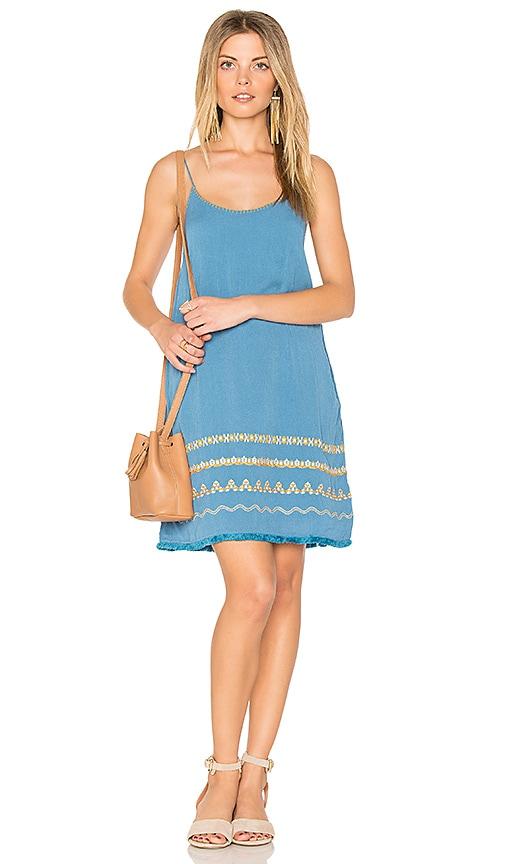 PIPER Celine Slip Dress in Turquoise
