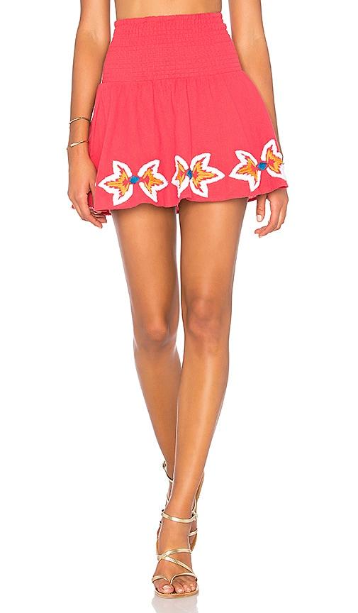 PIPER Sydney Skirt in Red