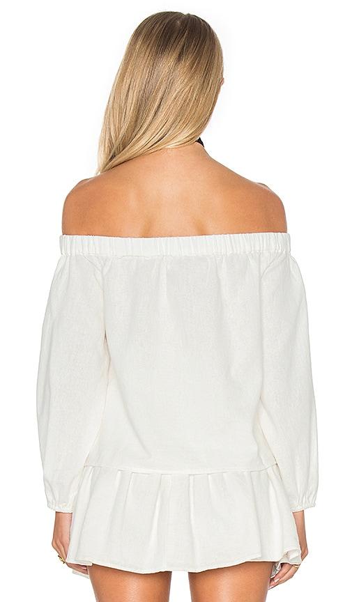 04e5c0e8a1236 cheap PIPER Devi Off Shoulder Blouse in Ecru - azzazytravel.com