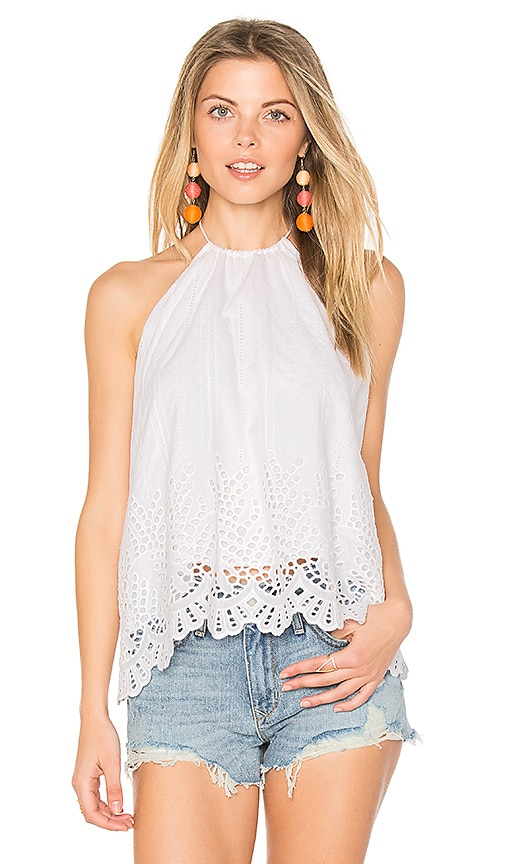 PIPER Pearl Top in White