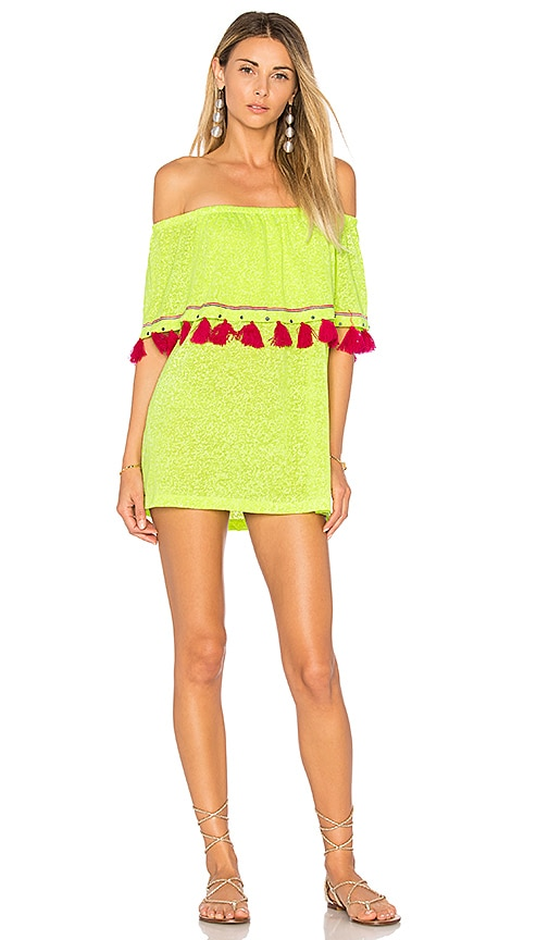 Pitusa Ibiza Mini Dress in Green