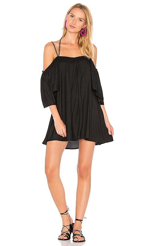 Pitusa Summer Night Dress in Black