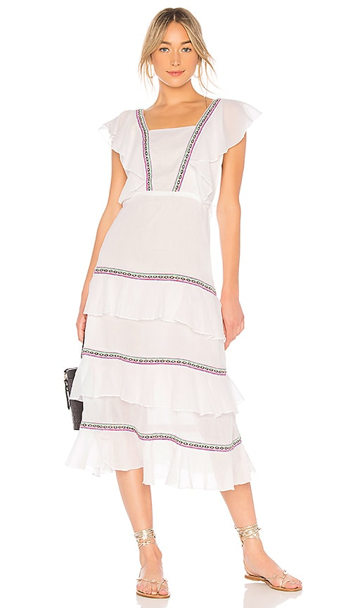 Pitusa Eve Summer Dress in White