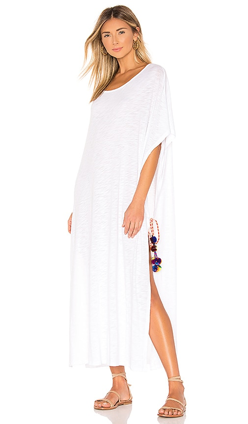 d1bc1780936 Pitusa Greek Tie Dress in White