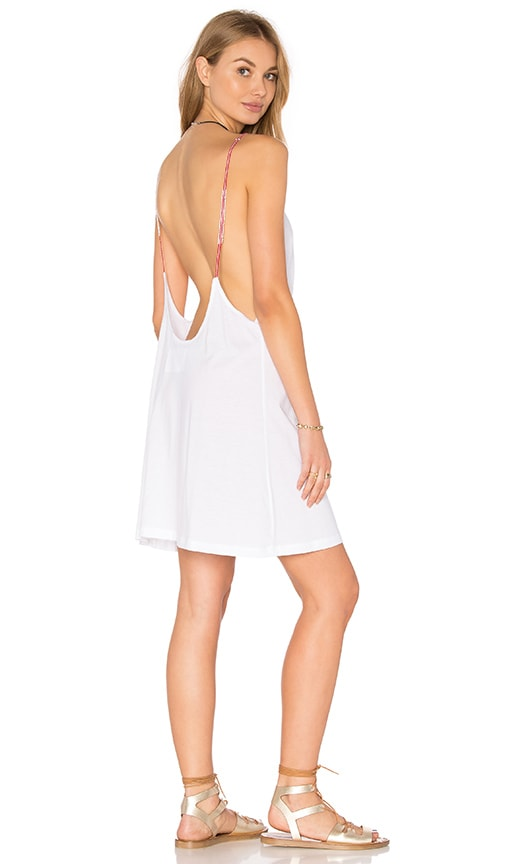 Pitusa Little Beaded Dress in White