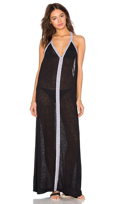 Pitusa Inca Sun Dress in Black & White