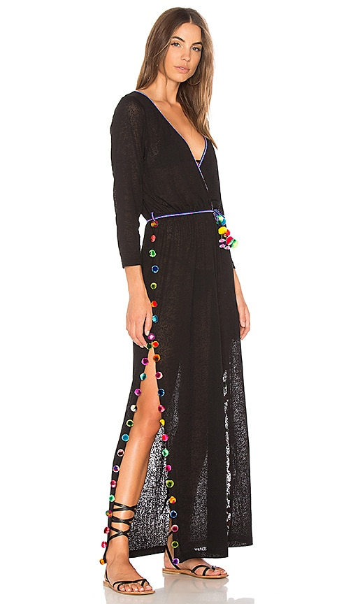 Pitusa Santorini Dress in Black