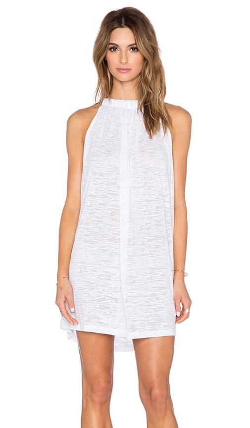 Pitusa Aegean Mini Dress in White