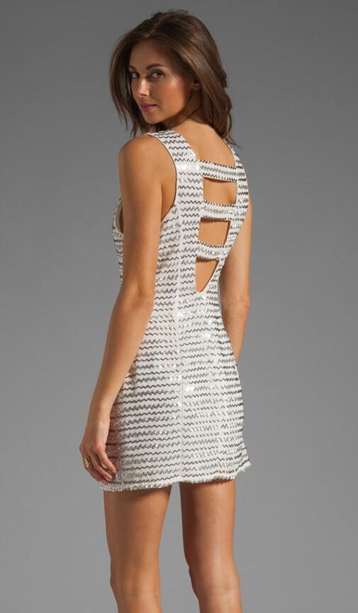 Ivy Metal Zig Zag Dress