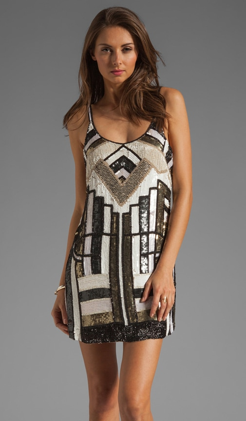 Hayden Chrysler Beading Dress