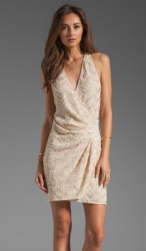 Duet Sequin Thread Pyramid Dress