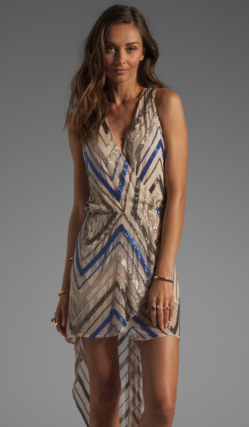 Blair Metallic Bead Dress