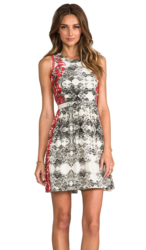 Embroidered Ancho Dress