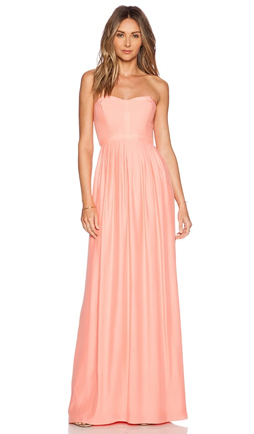 Parker Bayou Maxi Dress in Peach