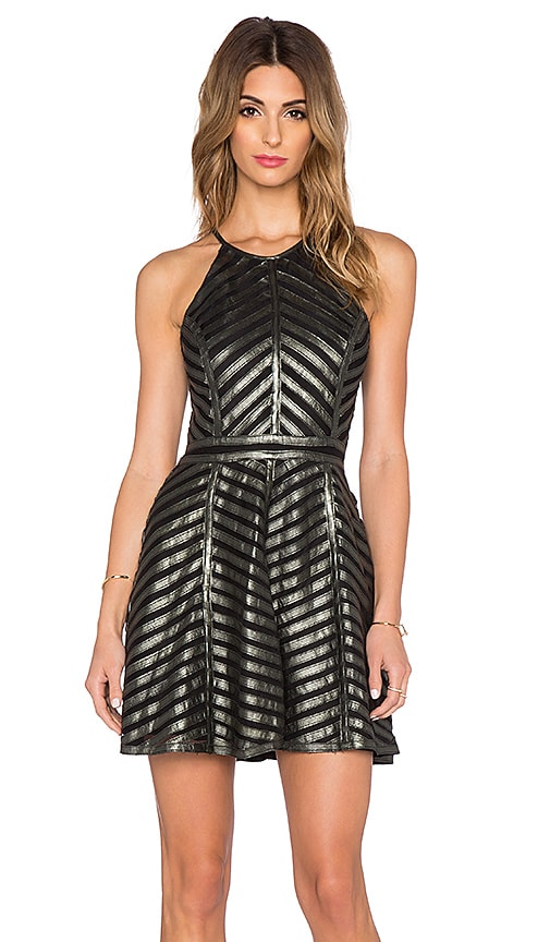 Parker Viking Dress in Metallic