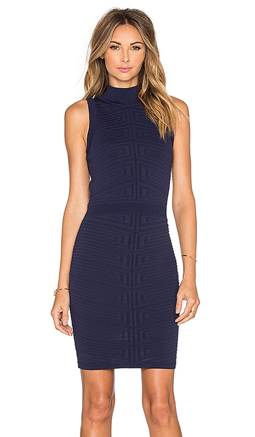 Parker Kayleigh Knit Dress in Navy