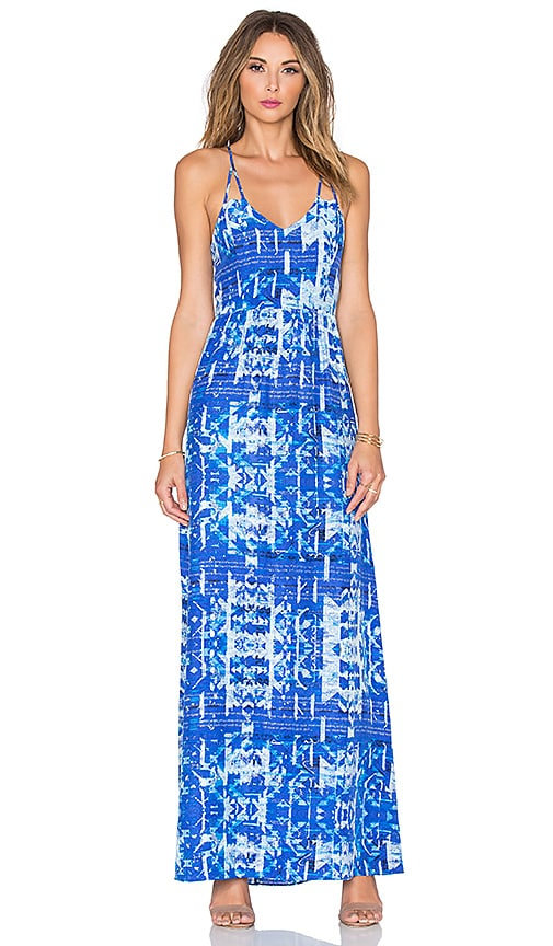 Parker Kisa Maxi Dress in Blue