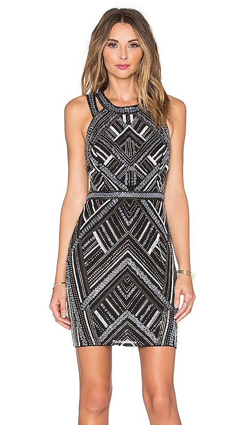 Parker Christian Sequin Dress in Black