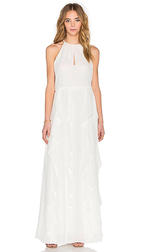 Parker Farall Maxi Dress in Ivory