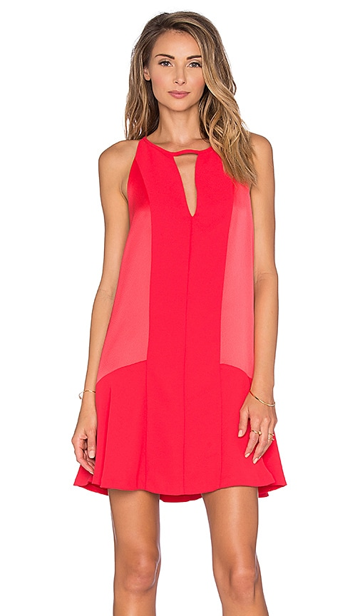 Parker Ronan Dress in Orange