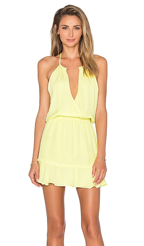 Parker Nathan Dress in Yellow
