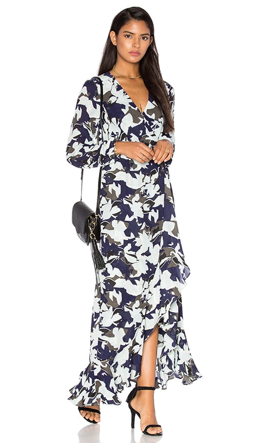 Parker July Maxi Dress in Blue