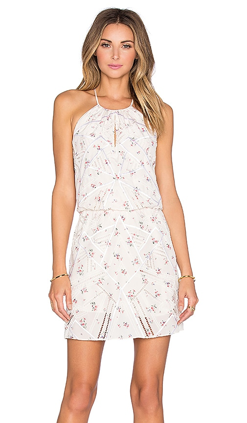 Parker Atticus Dress in White